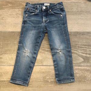 Boy skinny Hudson jeans 2t